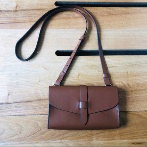 GAP Camel or Brown Crossbody Bag